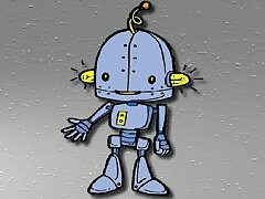 Cartoon Robot Jigsaw