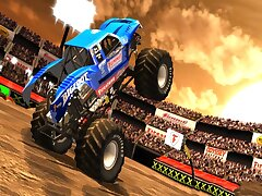 Monster Truck Dessert Racing Game 3D 2019