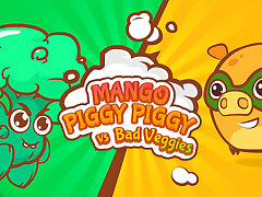 Mango Piggy Piggy vs Sinful Veggies