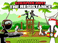 Stickman Army : The Guerilla